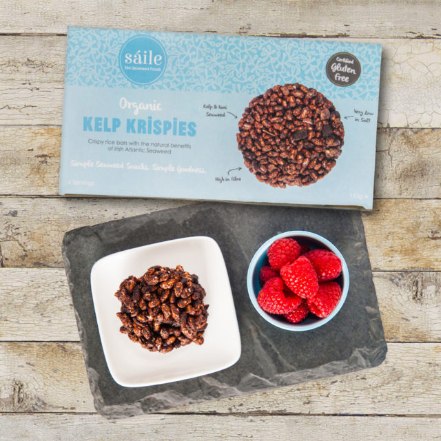 Box packaging design for Saile seaweed